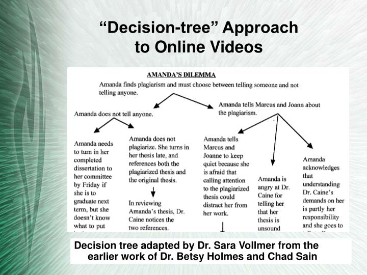 """Decision-tree"" Approach"