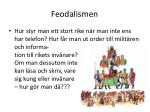 feodalismen