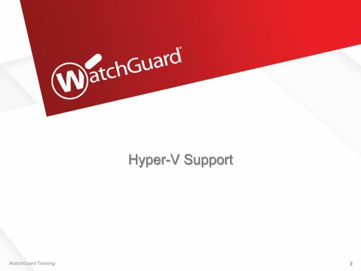 Hyper-V Support