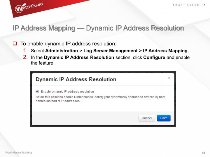 IP Address Mapping — Dynamic IP Address Resolution