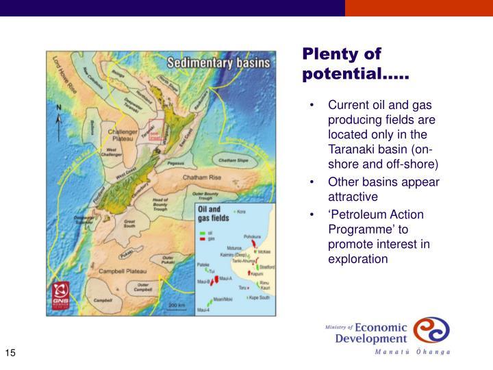 Plenty of       potential…..