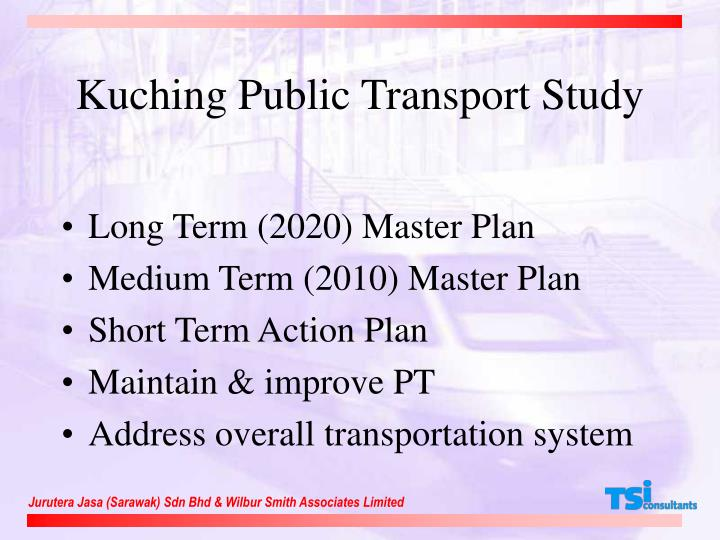 Kuching Public Transport Study