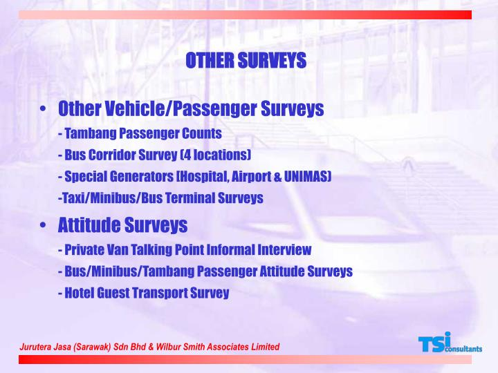 OTHER SURVEYS