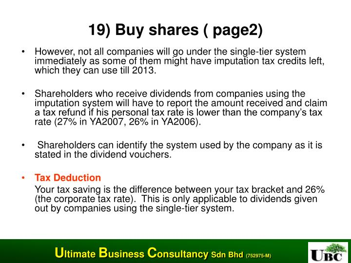 19) Buy shares ( page2)