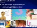 environmental health introduction