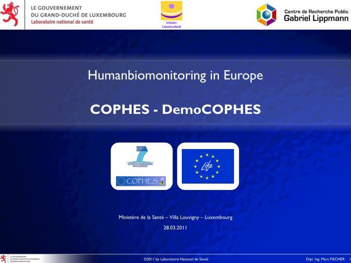 Humanbiomonitoring in Europe