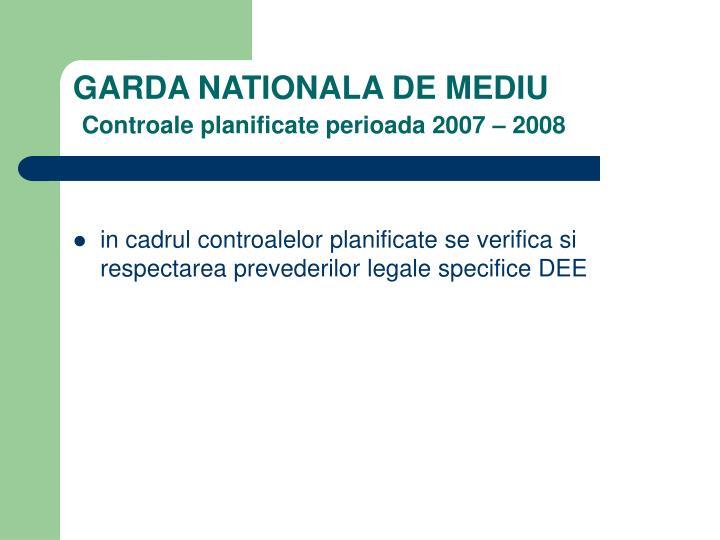 GARDA NATIONALA DE MEDIU