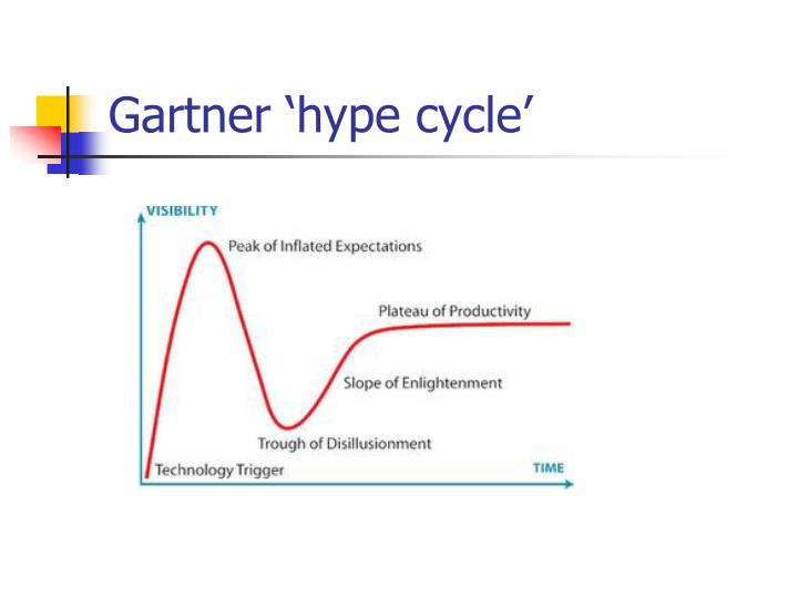 Gartner 'hype cycle'