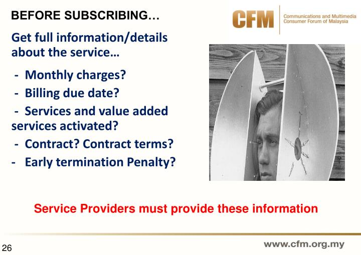 Get full information/details about the service…