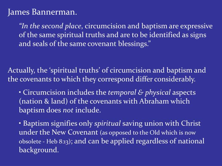 James Bannerman.