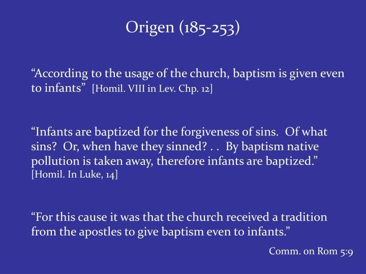 Origen (185-253)
