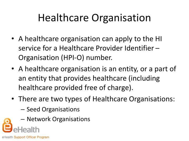 Healthcare Organisation