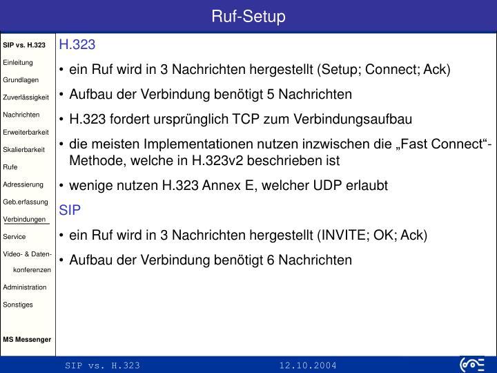 Ruf-Setup