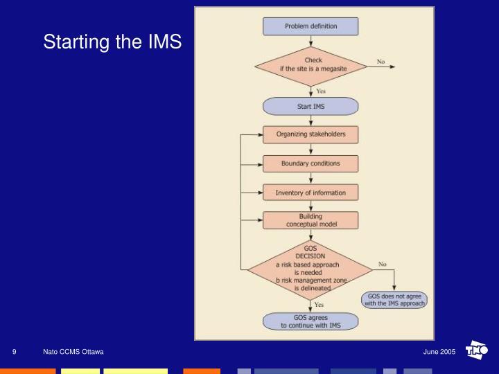 Starting the IMS