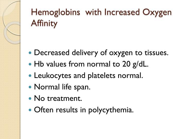 Hemoglobins