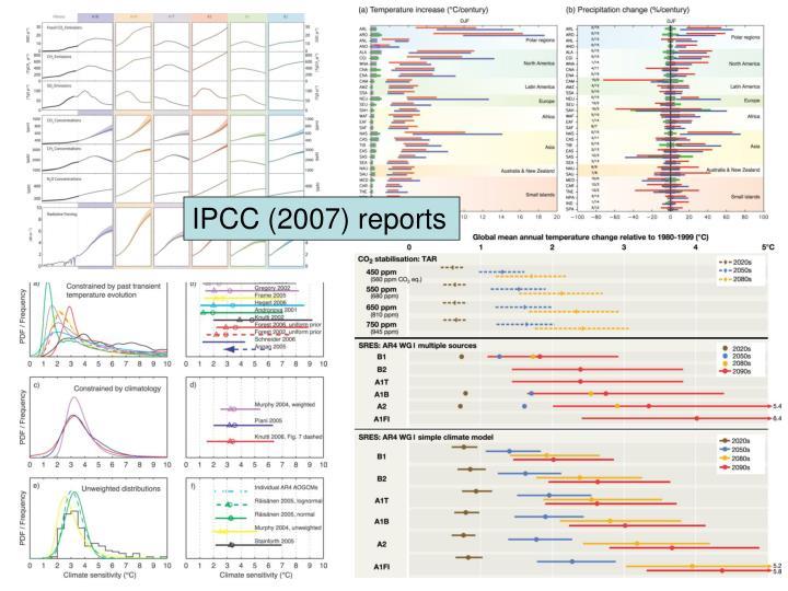 IPCC (2007) reports