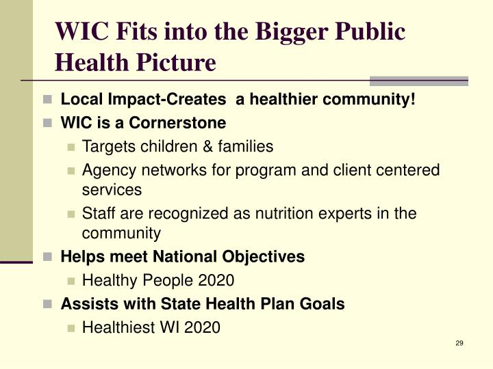 Ppt Wic Women Infants And Children Powerpoint