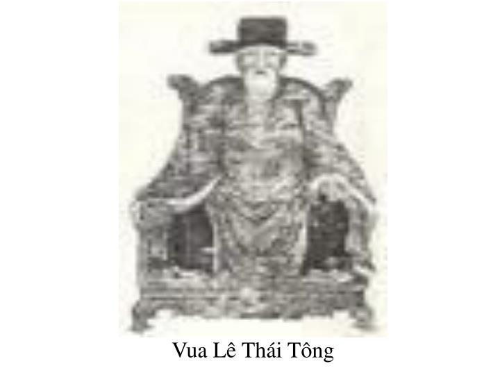 Vua Lê Thái Tông
