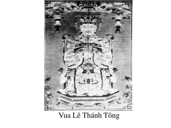 Vua Lê Thánh Tông