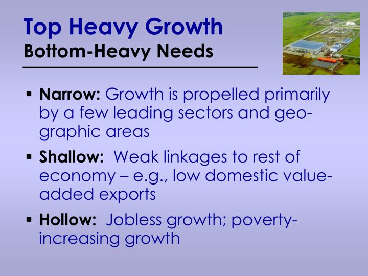 Top Heavy Growth