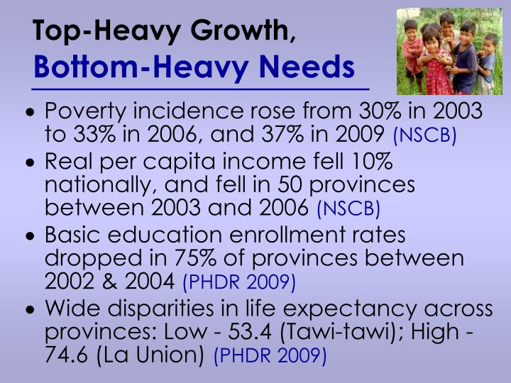 Top-Heavy Growth,