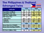 the philippines thailand estranged twins
