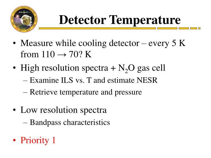 Detector Temperature