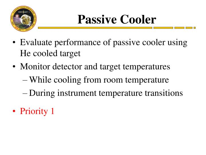Passive Cooler
