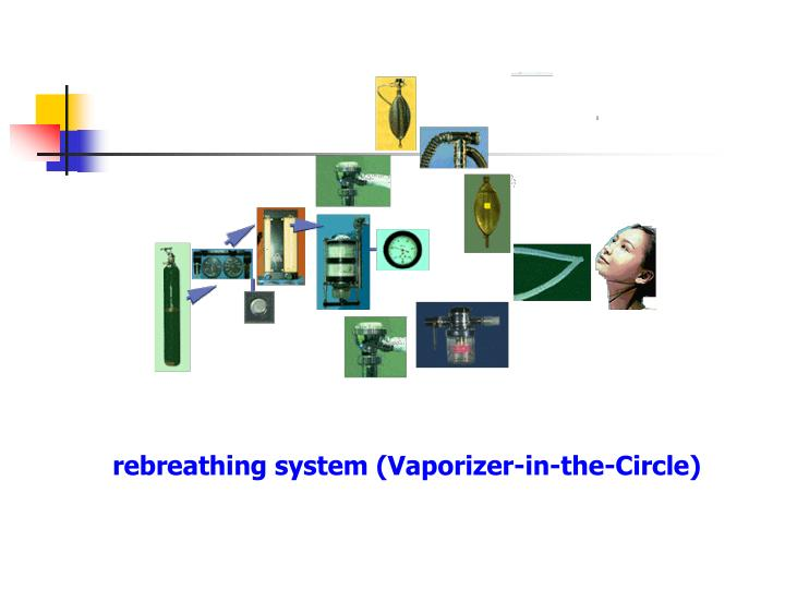 rebreathing system (Vaporizer-in-the-Circle)