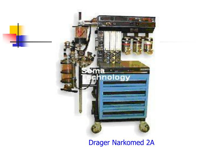 Drager Narkomed 2A