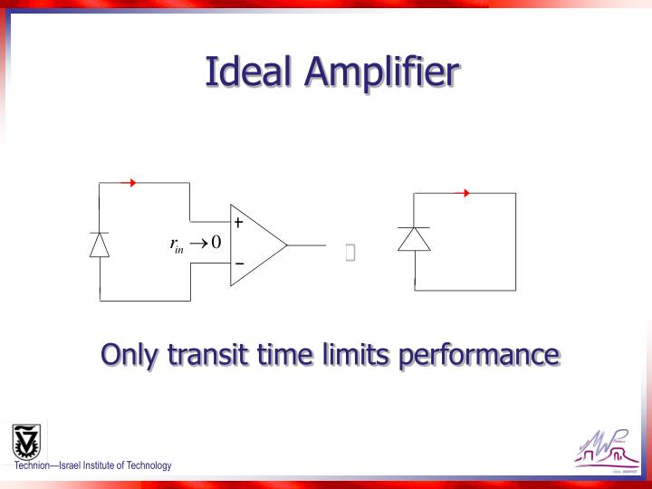 Ideal Amplifier