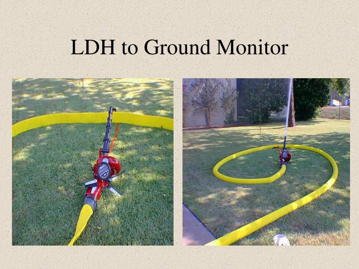 LDH to Ground Monitor
