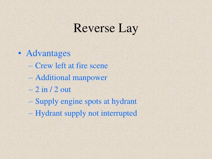 Reverse Lay