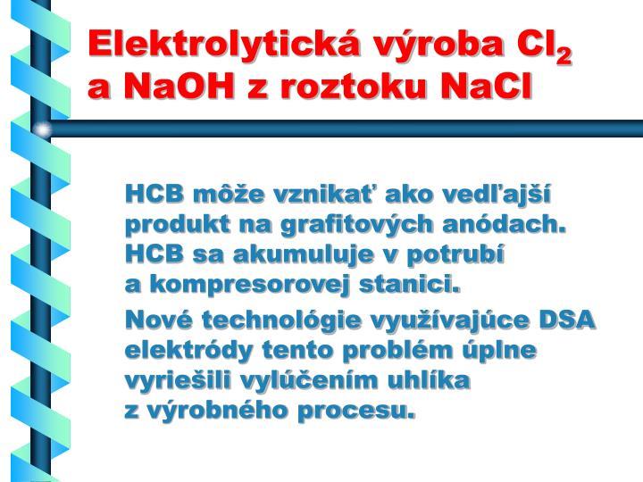 Elektrolytická výroba