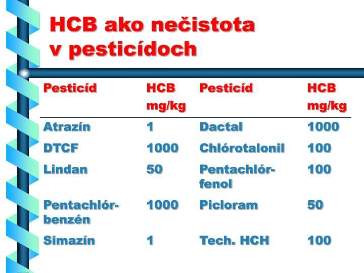 HCB ako ne