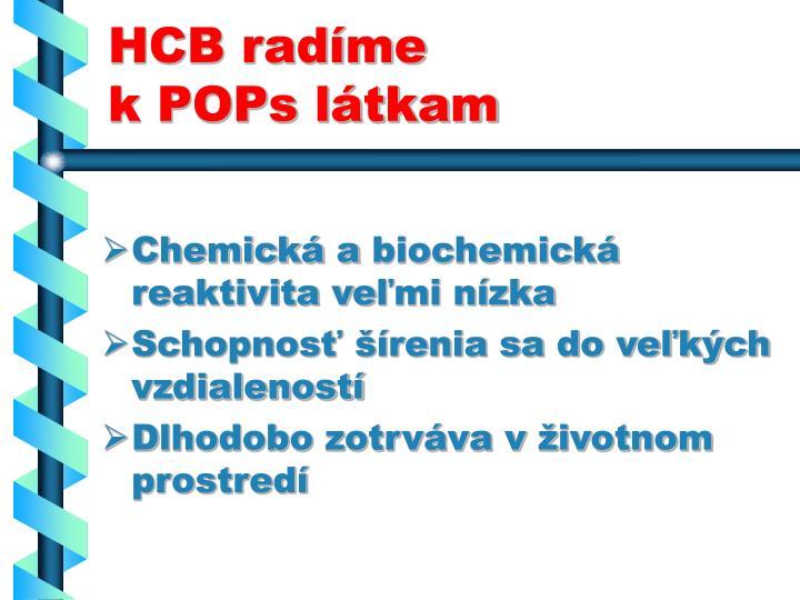 HCB radíme