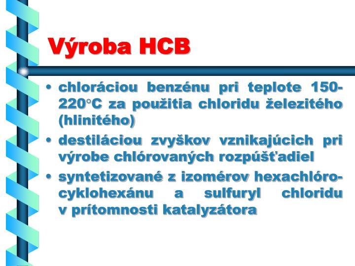 Výroba HCB