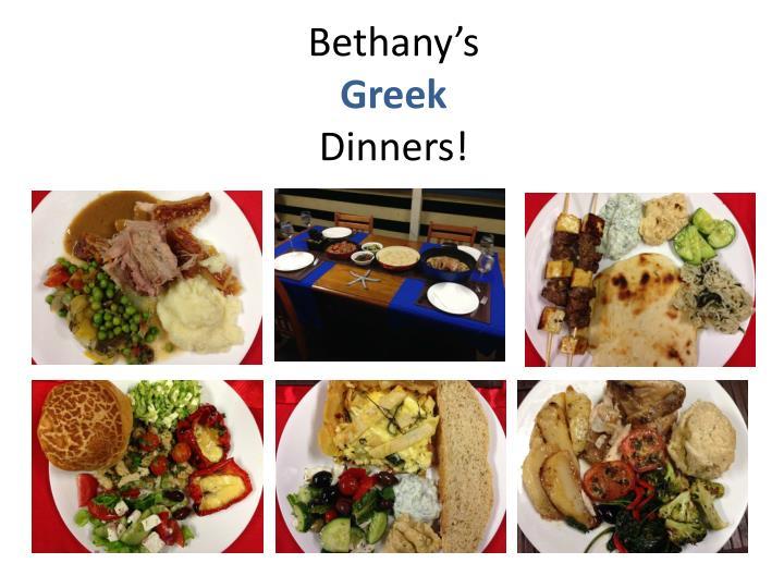 Bethany's