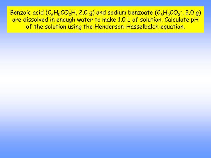 Benzoic acid (C