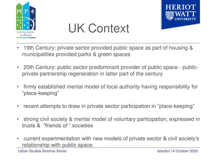 UK Context