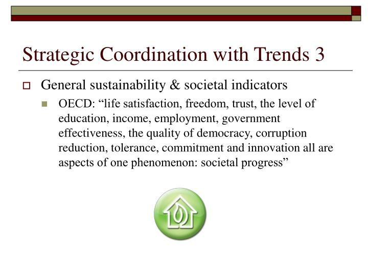 Strategic Coordination with Trends 3