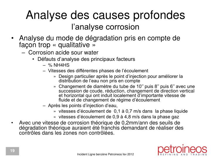Analyse des causes profondes