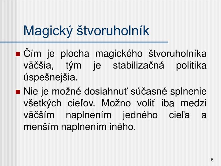 Magický štvoruholník