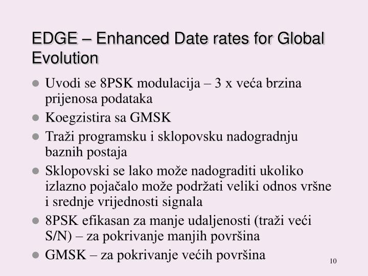 EDGE – Enhanced Date rates for Global Evolution