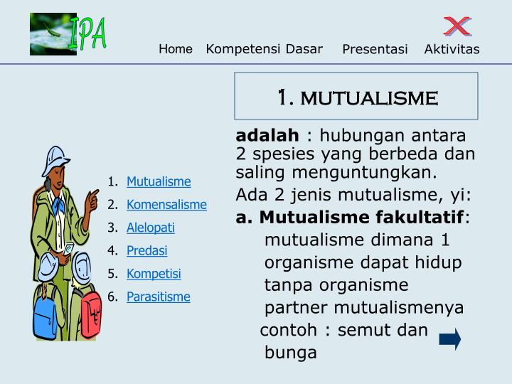 1. mutualisme