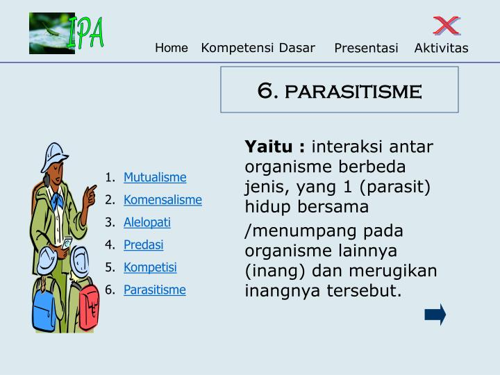 6. parasitisme
