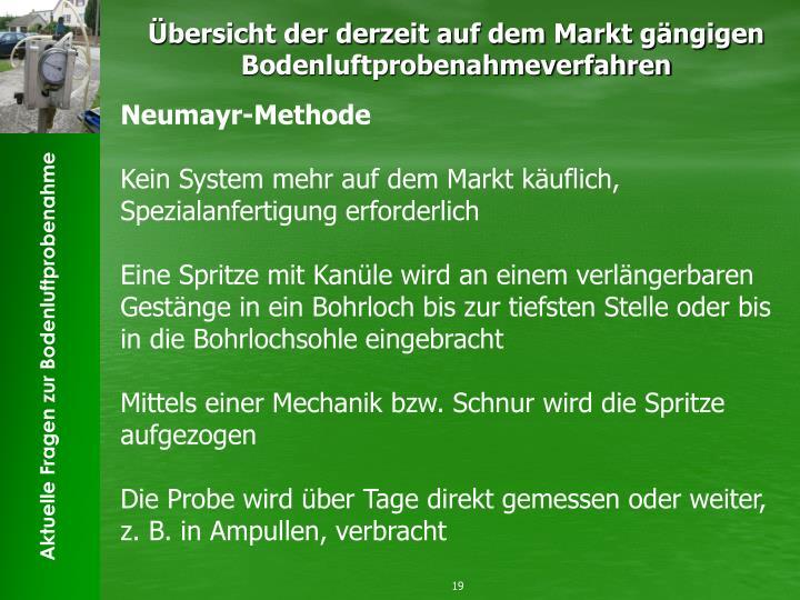 Neumayr-Methode