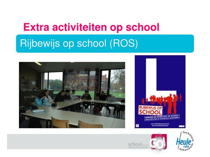 Extra activiteiten op school