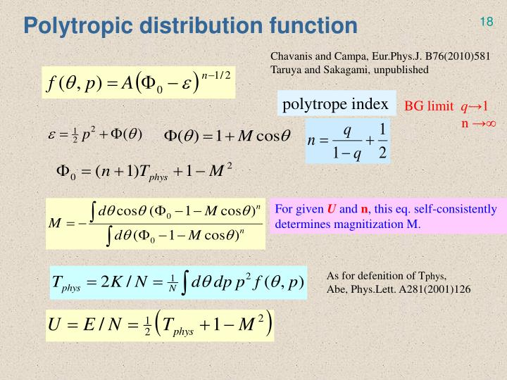 Polytropic distribution function