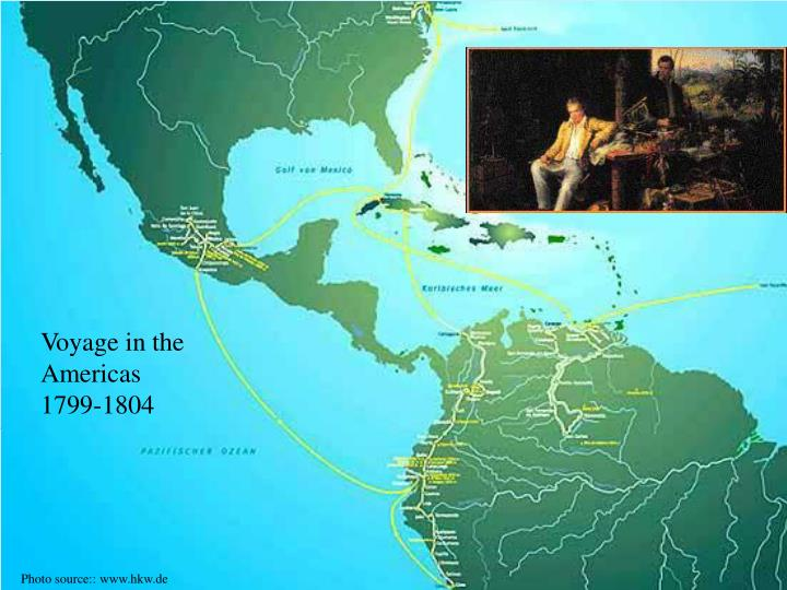 Voyage in the Americas